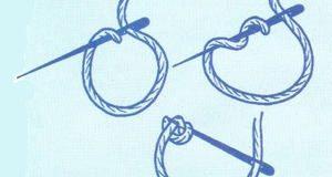 Uzlíčkový steh – jak vyšívat a použití